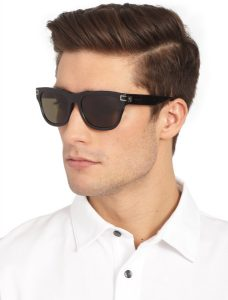 Black Wayfarer Sunglasses Men