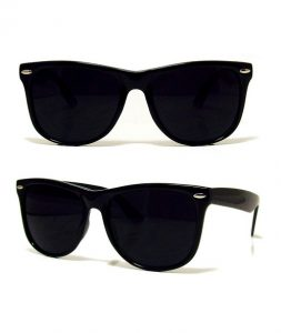 Full Black Wayfarer Sunglasses