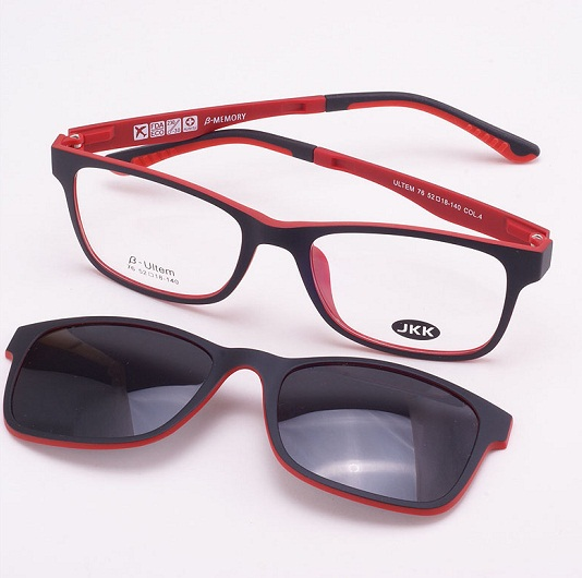 35a96d066a0 Glasses with Magnetic Clip on Sunglasses