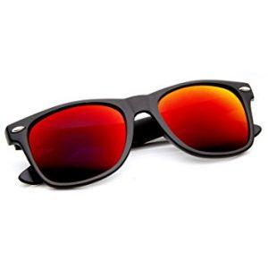 Large Wayfarer Style Sunglasses