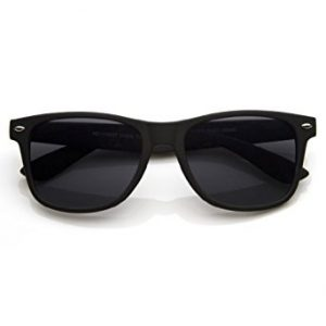 Matte Black Wayfarer Sunglasses