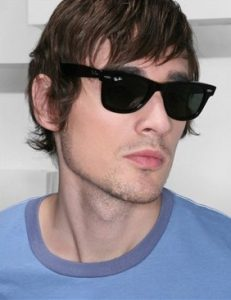 Mens Black Wayfarer Sunglasses