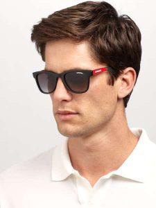Mens Wayfarer Style Sunglasses