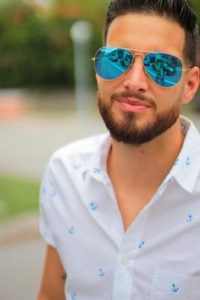 Mirrored Aviator Sunglasses for Men