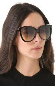 Oversized Cat Eye Sunglasses