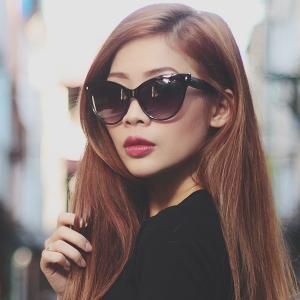 Oversized Cat Eye Sunglasses Images