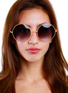 Oversized Round Sunglasses Images