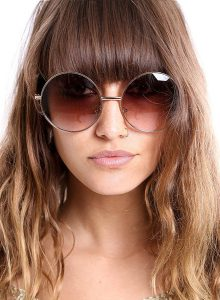 Oversized Round Sunglasses Pictures