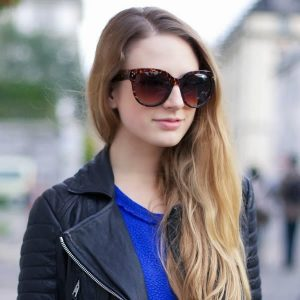 Picture of Oversized Cat Eye Sunglasses