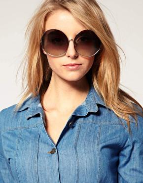 Oversized Round Sunglasses  oversized round sunglasses top sunglasses