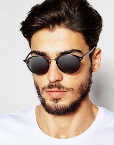Round Men Sunglasses
