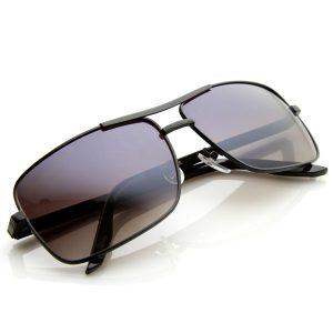 Square Aviator Sunglasses for Men