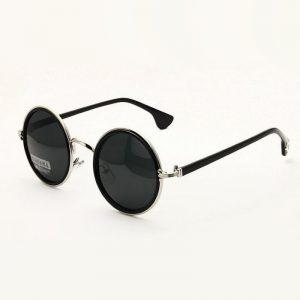 Vintage Round Sunglasses Men