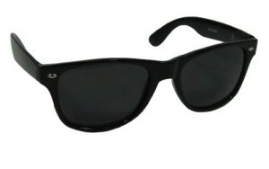 Wayfarer Sunglasses Black Lens