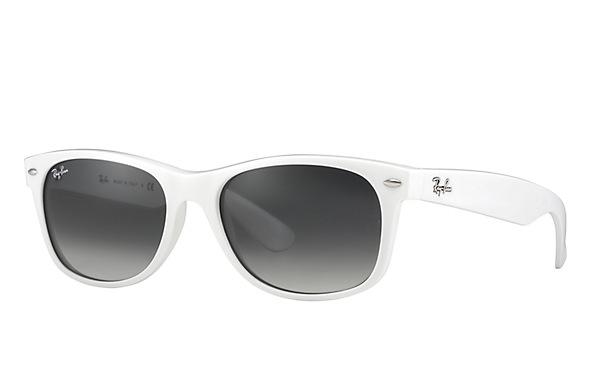 black and gold aviator sunglasses  White Wayfarer Sunglasses
