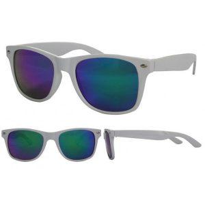 White Wayfarer Sunglasses Photos