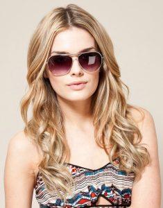 Womens Aviator Sunglasses