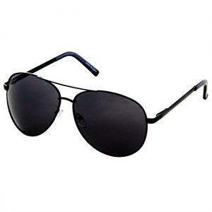 All Black Aviator Sunglasses