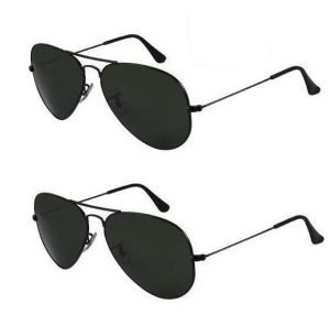 Aviator Sunglasses Black