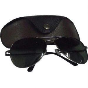 Black Aviators Sunglasses