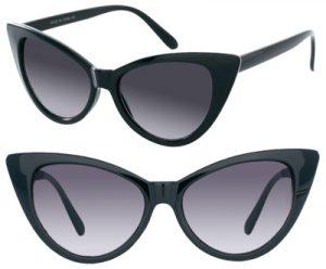 Black Cat Eye Sunglasses Pictures