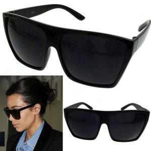 Black Oversized Sunglasses Womens