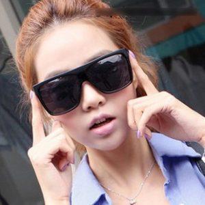 Black Square Sunglasses Pictures