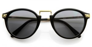 Black and Gold Sunglasses Pictures