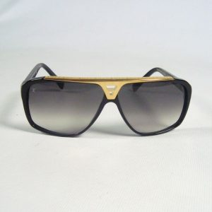 Black and Gold Sunglasses for Men