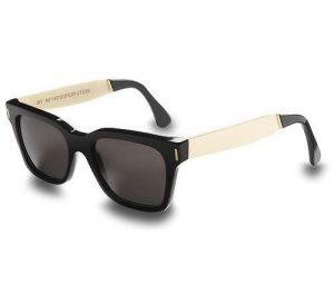 Black and White Wayfarer Sunglasses