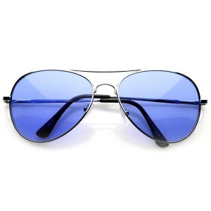 Blue Aviator Sunglasses Images