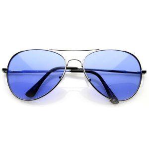 Blue Aviator Sunglasses Images