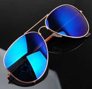 Blue Aviator Sunglasses Pictures