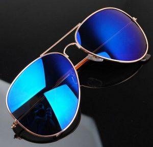 Blue Aviator Sunglasses Pictures
