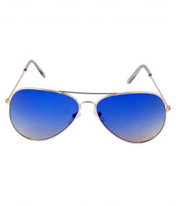 Blue Aviator Sunglasses for Men