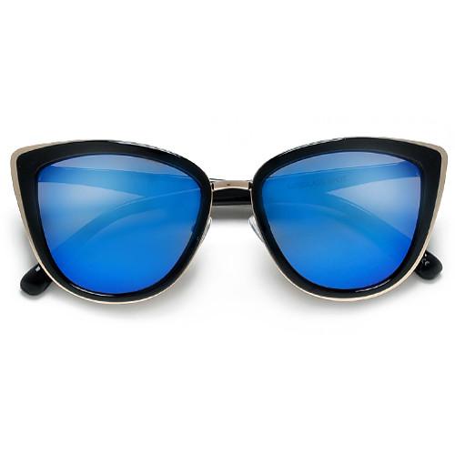 Blue Cat Eye Sunglasses  mirrored cat eye sunglasses top sunglasses