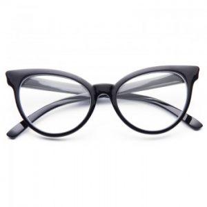 Cat Eye Clear Sunglasses