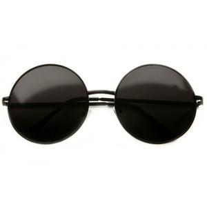 Circle Black Sunglasses