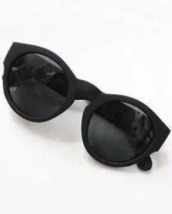 Circle Sunglasses Black