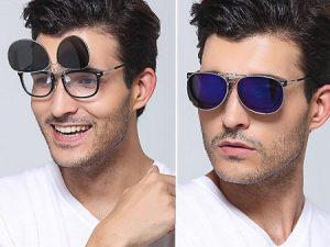Clip On Flip Up Sunglasses Polarized