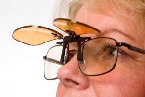 Clip On Sunglasses Flip Up