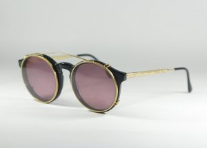 Clip-On Sunglasses for Round Frames