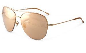 Gold Aviators Sunglasses