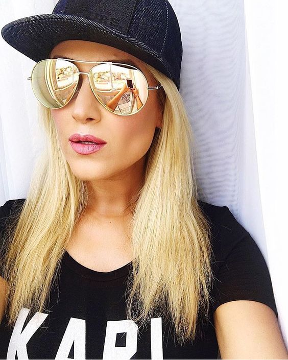 Gold Mirrored Sunglasses Topsunglasses Net