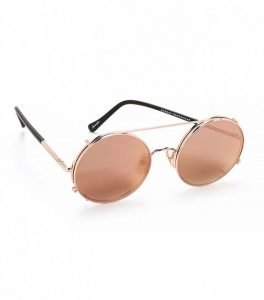 Gold Round Sunglasses Images