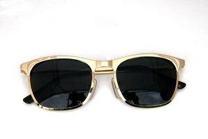 Gold Wayfarer Sunglasses Pictures