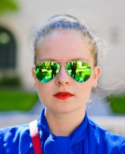 Green Mirror Sunglasses Images