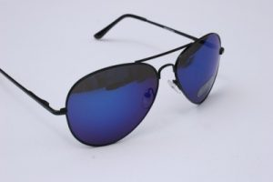 Image of Blue Aviator Sunglasses