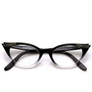 Images of Clear Cat Eye Sunglasses