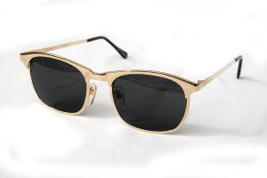 Images of Gold Wayfarer Sunglasses